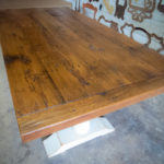 CarolinaFarmTable-43-Trestle-Table-Reclaimed-Oak