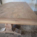 CarolinaFarmTable-54-Weathered-Pine-Trestle-Table