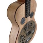 Dobro with curly maple back and sides.